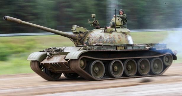 Т-54иТ-55возглавили рейтинг самых массовых танков