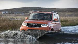ВСШАвосхитились новой версией УАЗ«Патриот»