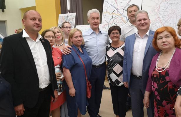 Марьино ждет большое будущее: мэрМосквы встретился сжителями района