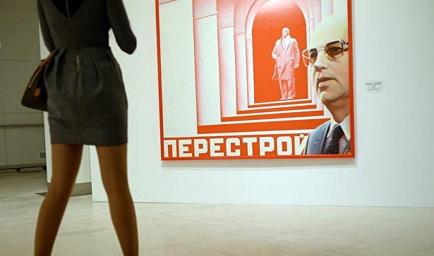 Художник Булатов представил выставку работ в«Мастерской Петра Фоменко»