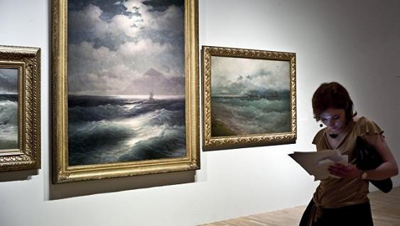 Третьяковская галерея продлит работу выставки Айвазовского