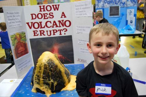 Write my science project on volcanoes hypothesis
