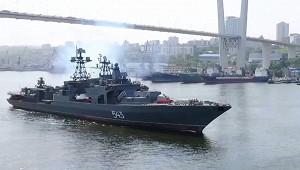 Российский фрегат «вооружили дозубов»