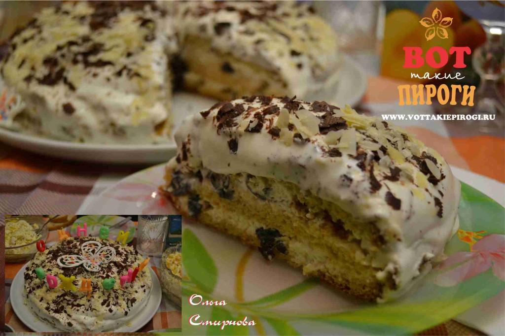 Быстрый торт рецепт со сметаной