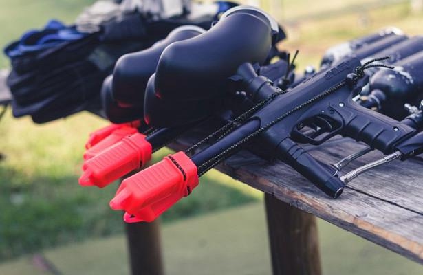 Протестующих вМинске «расстреляли» изпейнтбольных ружей