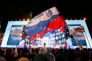 Путин навыборах получил поддержку абсолютного большинства
