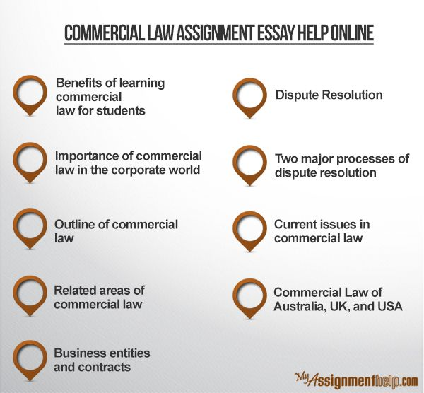 Commercial law assignment