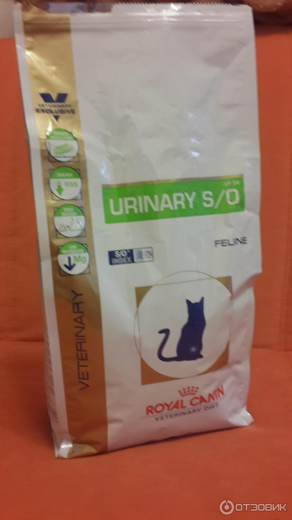 Корм royal canin so urinary