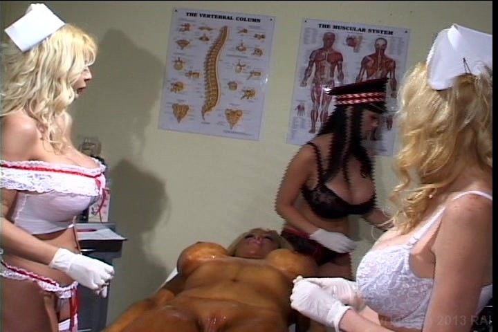 Wrinkly tit blonde mature