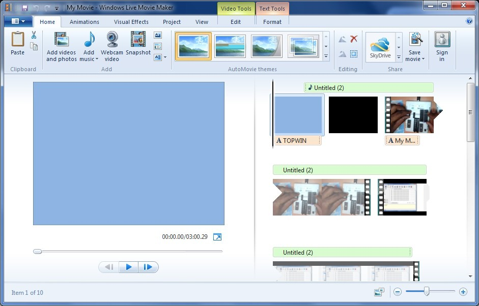 Windows Live Movie Maker 2011 Free Download For Xp
