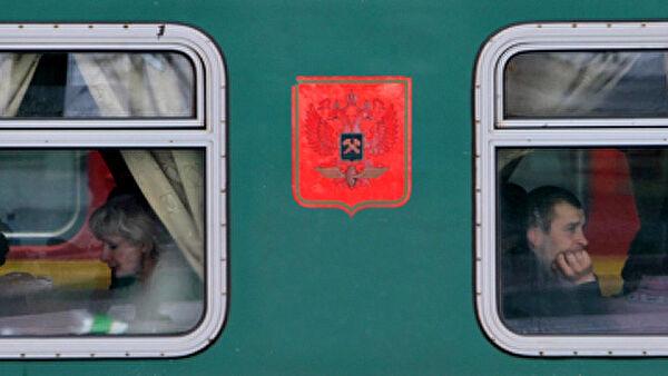 Поезд сошел срельсов вМоскве