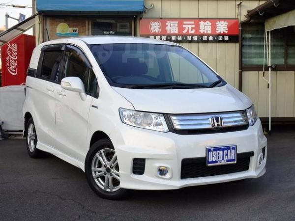 Honda Freed – комплектации, цены и фото