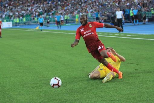 «Уфа» определилась состартовым составом наответный матч Лиги Европы с«Домжале»