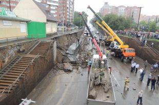 Вмэрии Красноярска заявили ополной ликвидации аварийных подпорных стен