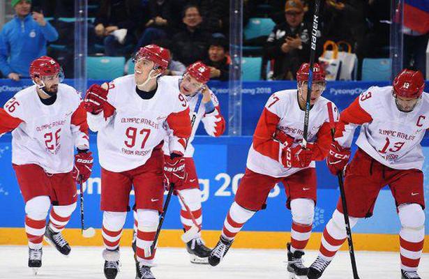 Букмекры уверены впобеде российских хоккеистов вфинальном матче ОИ‐2018