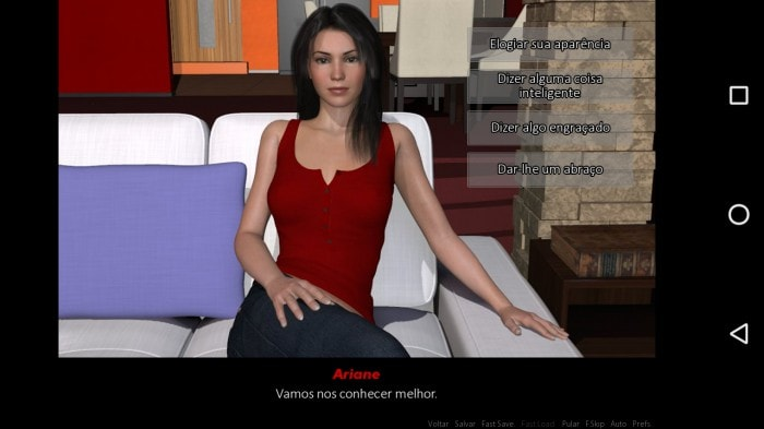 Dating ariane game android