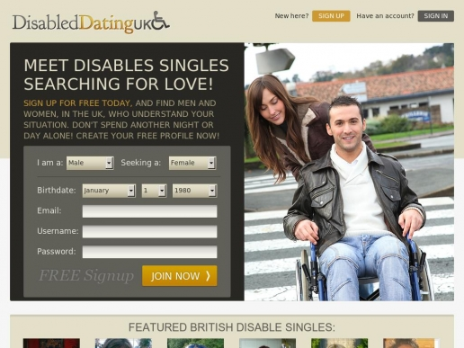 Disabled dating 4 u