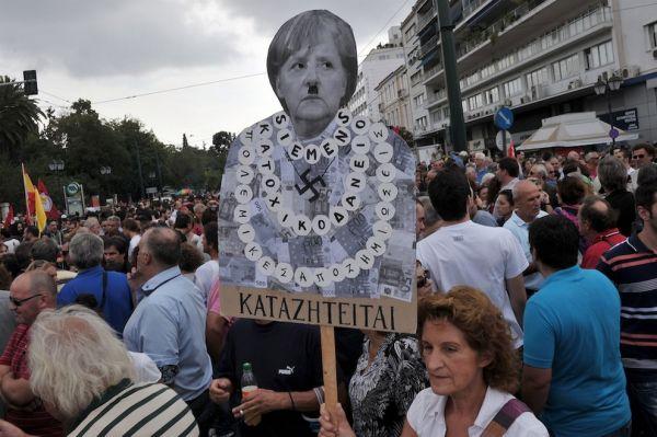 Греческий референдум— «самоубийство изстраха смерти»