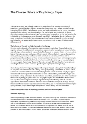 Buy psychology research paper ideas