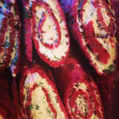 Рецепт Свекольные блины наряженке