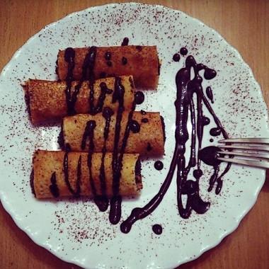 Рецепт Блины смаком идомашним шоколадом