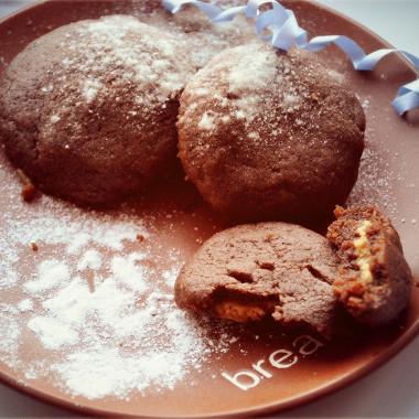 Рецепт Шоколадные подушечки сначинкой изарахисовой пасты