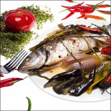 Рецепт Рыба, запеченная вфольге