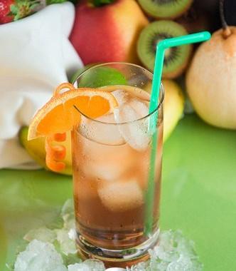 Рецепт Апельсиновый холодный чай