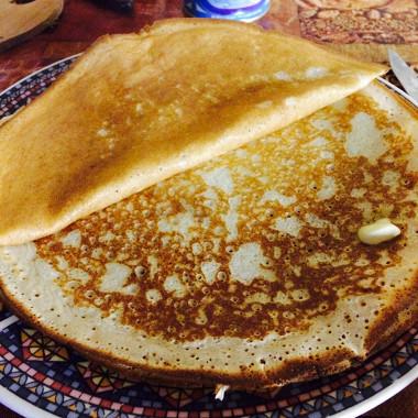 Рецепт Заварные блины на кефире