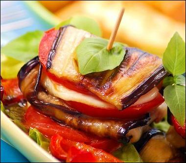 Рецепт Бутерброды сбаклажаном имоцареллой