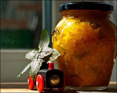 Рецепт Варенье изкабачков иапельсинов