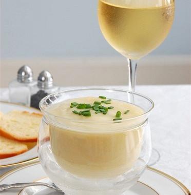 Рецепт Супвишисуаз сосливками