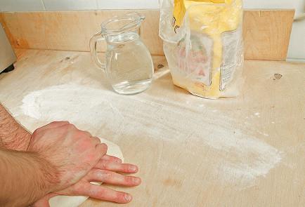 Фото приготовления рецепта: Хинкали - шаг 3