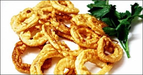Луковые колечки (onion rings). Рецепт