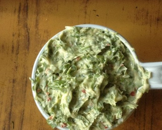 Масло с корешками и зеленью (Kreuterbutter)