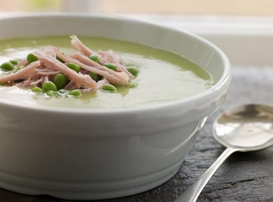 Суп-пюре с колбасой
