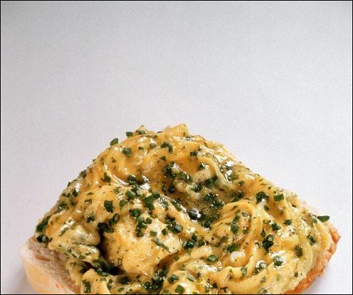 Бутерброд с яичным паштетом
