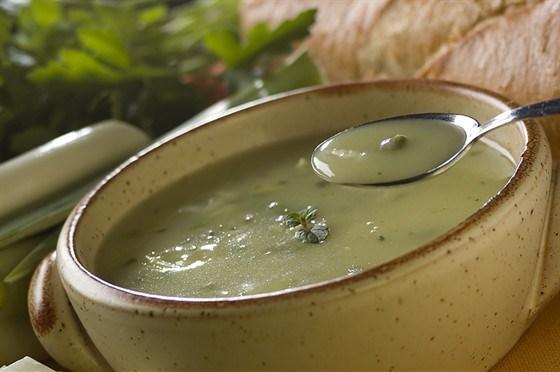Коричневый луковый суп