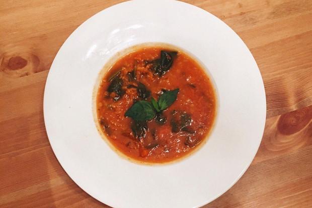 Чечевичный итальянский суп рецепт