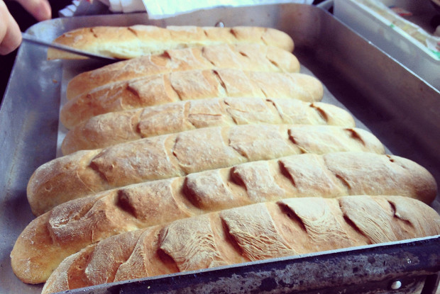 Итальянский душистый хлеб с букетом трав