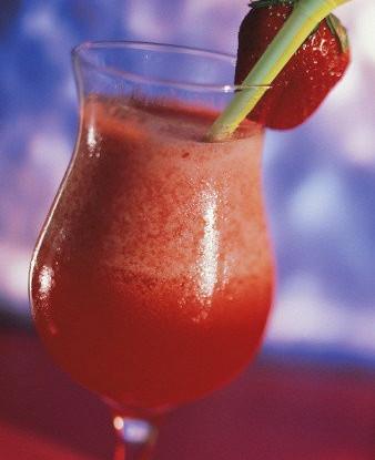 Клубнично-лаймовый коктейль