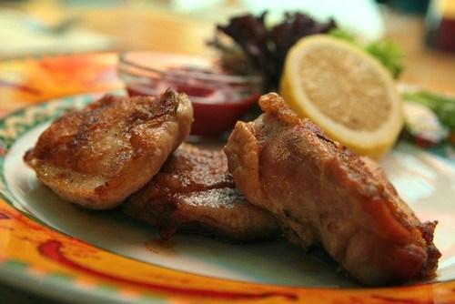 Курица, маринованная в кофейном маринаде