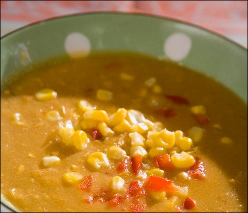 Африканский суп с кунжутом и специями