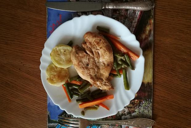Салат овощная подушка