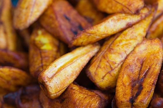 Карамелизованные бананы с ромом