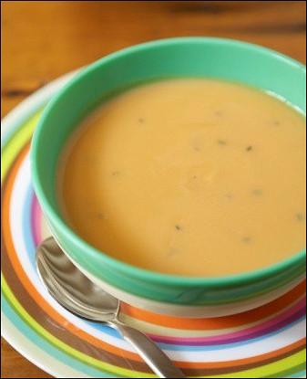 Суп из абрикосов и яблок