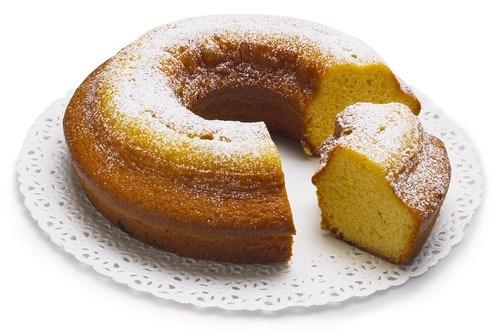 Лимонно-медовый кекс на кефире