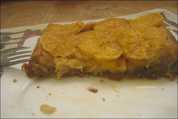 Апельсиново-банановый тарт татен