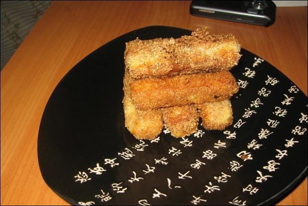 Жареные сырные палочки