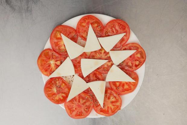 Кипрский салат из помидоров